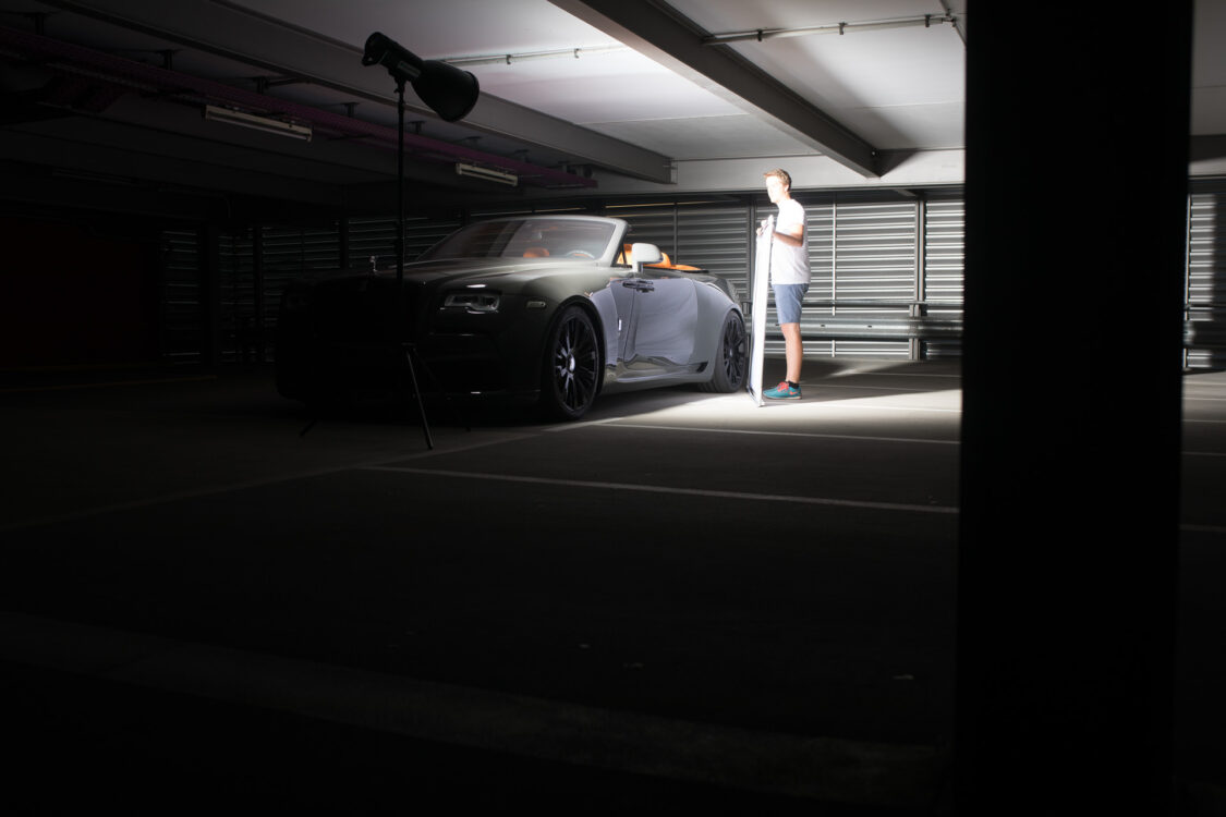 How To Photoshoot A Car Broncolor